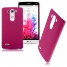 Snap-on Hard Matte Plastic Back Case Cover Skin For LG G3 Mini D725 D722 (COLOR ROSE
