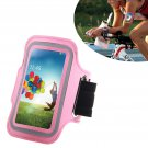 Armband Case Cover Holder Fr Samsung Galaxy S4 Mini i9190 (COLOR PINK