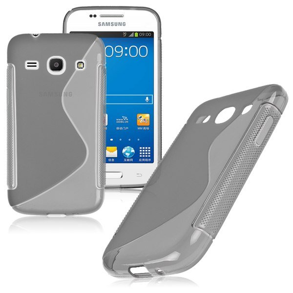 S-Line Soft TPU Case Cover Skin For Samsung Galaxy ( COLOR GREY