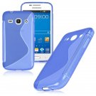 S-Line Soft TPU Case Cover Skin For Samsung Galaxy ( COLOR BLUE