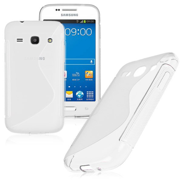 S-Line Soft TPU Case Cover Skin For Samsung Galaxy ( COLOR CLEAR