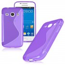 S-Line Soft TPU Case Cover Skin For Samsung Galaxy ( COLOR PURPLE