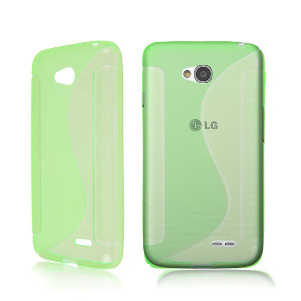 TPU Case for LG Optimus L70 ( COLOR green