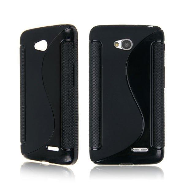 TPU Case for LG Optimus L70 ( COLOR BLACK
