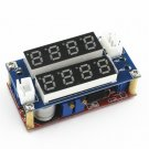 5A Constant Current Voltage LED Driver Battery Charging Module Voltmeter Ammeter