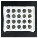 20pcs New CR2032 DL2032 ECR2032 5004LC Button Cell Battery Cells