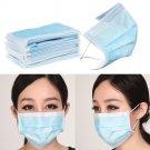 50 pcs 3-ply Earloop Disposable Anti-Dust Face Masks: Medical Dental Nail Health