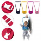 Toddler Kid Baby Infant Safety Walking Assistant Harness Rein Strap Weskit Style(color blue