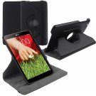 "360 Rotating Folio Leather Case Cover Stand for LG G Pad Gpad 8.3"" V500 Tablet( color black"