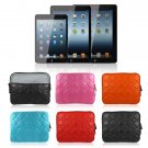 "1x Soft Sleeve Bag Pouch Case Cover for iPad 4 3 2 New iPad Air 9.7"" 10"" Tablet PC( color orange"