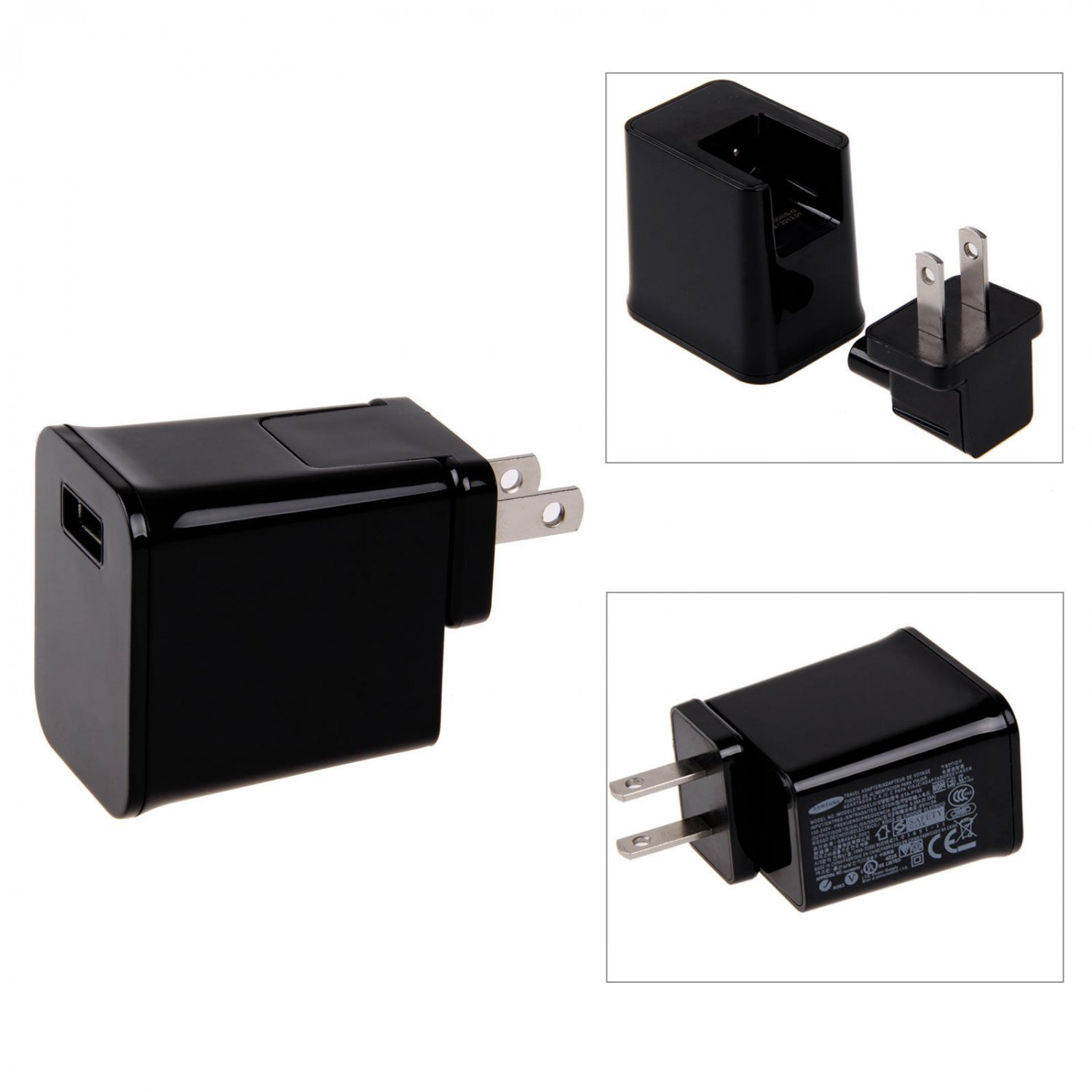 US Plug 2A USB Wall Charger Adapter For Samsung Galaxy Tab 2 7.7 8.9 10.1 Tablet