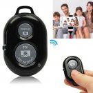 Wireless Bluetooth Camera Remote Control Selfie Shutter For iPhone Samsung Phone(COLOR BLACK