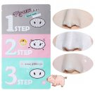 Holika Holika Pig-nose Clear Black Head 3 Step Kit /Korea Cosmetics