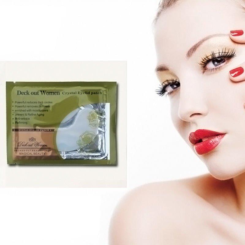 10 Pairs Crystal Collagen Eye Mask Sheet Packs Anti Wrinkles Dark Circles GG5
