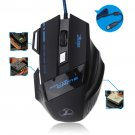 5500 DPI 7 Button LED Optical USB Wired Gaming Mouse Mice For Pro Gamer  YT