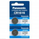 2 PANASONIC CR1616 ECR1616 CR 1616 3v Lithium battery
