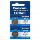 2 PANASONIC CR1620 ECR1620 CR 1620 3v Lithium Battery NEW