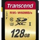 TRANSCEND SD XC SDXC 95MB/SEC 60M/WRITE 128GB UHS-I U3 ULTIMATE 128G 128 G GB