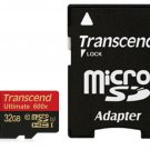 TRANSCEND MICRO SDHC 90MB 32GB UHS-I U1 CLASS 10 600X ULTIMATE 32G 32 G MICRO SD