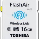 TOSHIBA SDHC FLASHAIR WIFI Class 10 16GB 16G 16 G GB SD HC WIRELESS MEMORY CARD