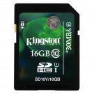 KINGSTON SD HC SDHC UHS-I U1 16GB 16G 16 G GB CLASS 10 FLASH MEMORY CARD NEW