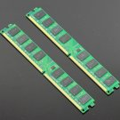 New 4GB 2x 2GB DDR2 667 MHZ PC2-5300 240PIN Desktop memory Fit AMD Motherboard