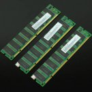 1.5GB 3x 512MB PC133 133MHZ 168pin SDRAM Low density DIMM Non-ECC Desktop Memory