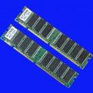 Low-Density 1GB 2X 512MB PC133 133MHZ SDRAM 168PIN MEMORY RAM Non-ECC Memory RAM