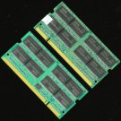 1GB 2X512MB PC2100 DDR266 200PIN SODIMM 266Mhz Laptop Netobook MEMORY RAM