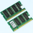 1GB 2X512MB PC2700 DDR333 200Ppin SO-DIMM 333mhz Laptop MEMORY RAM sodimm