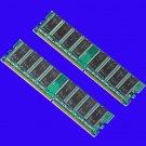 HIGH DENSITY 2GB KIT 2x1GB DDR333 PC2700 PC2100 DDR266 Memory 184PIN RAM Desktop