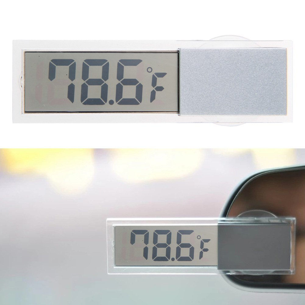 Car Home LCD Digital Display Room Temperature Meter/Thermometer Indoor & Outdoor