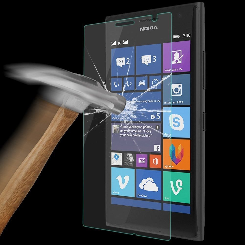 9H 2.5D 0.26mm Tempered Glass Screen Protector Film for NOKIA Lumia 730 735