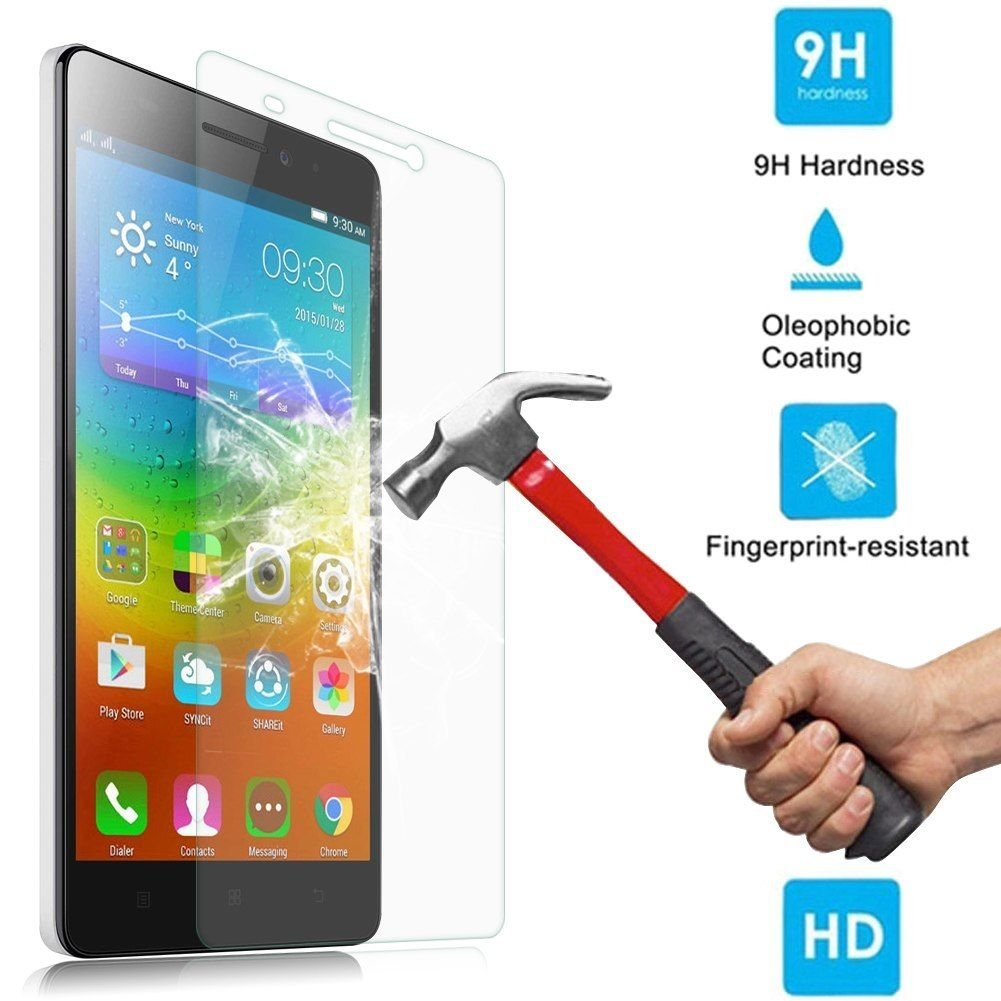 2.5D Tempered Glass Screen Protector Film Cover Guard For Lenovo K3 NOTE / A7000