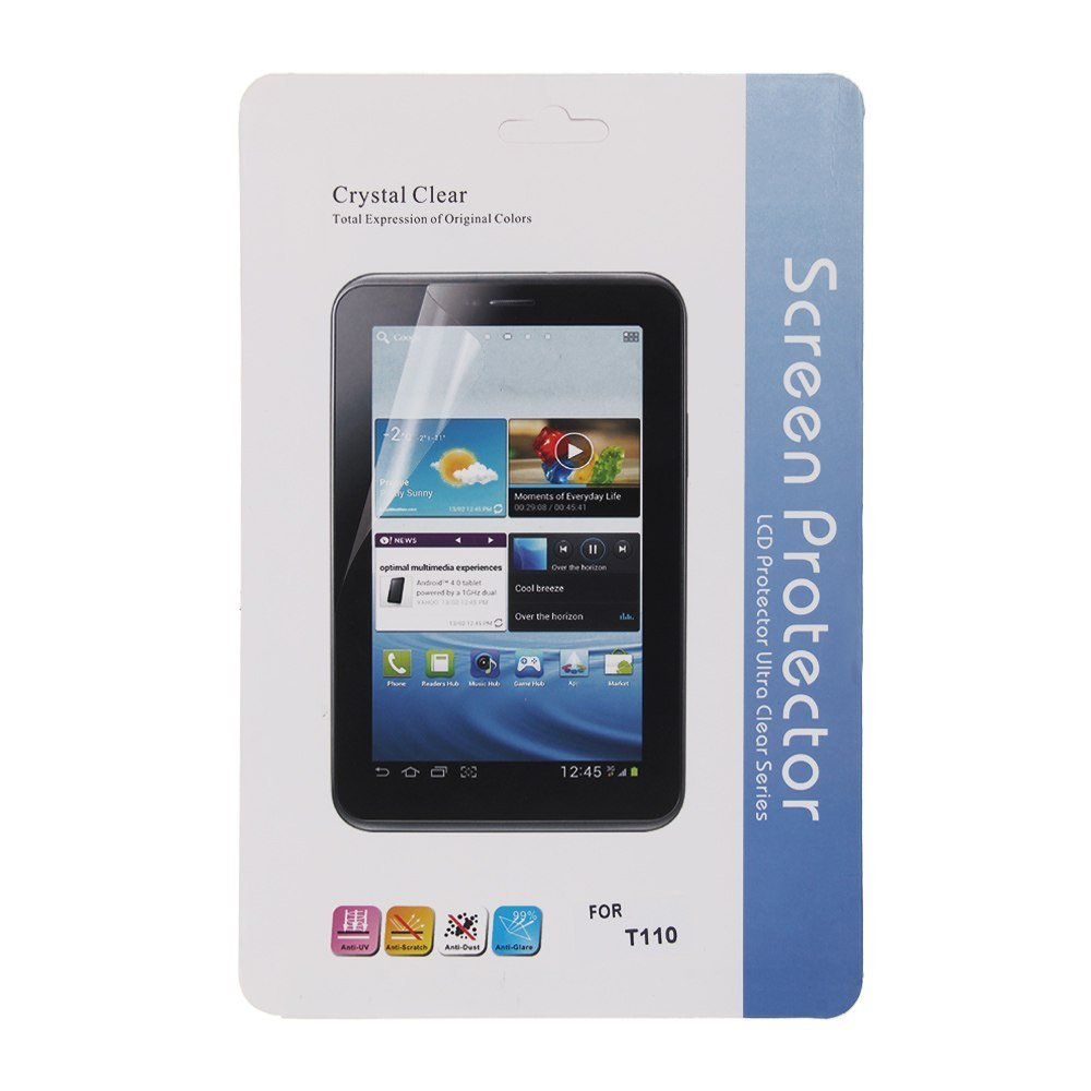 """Clear Screen Protector For Samsung Galaxy Tab 3 Lite 7 7.0"""" SM-T110/SM-T111"""