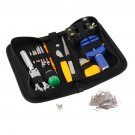 144 Pcs Watch Repair Kit Case Opener Pins Link Remover Spring Bar Tool Set