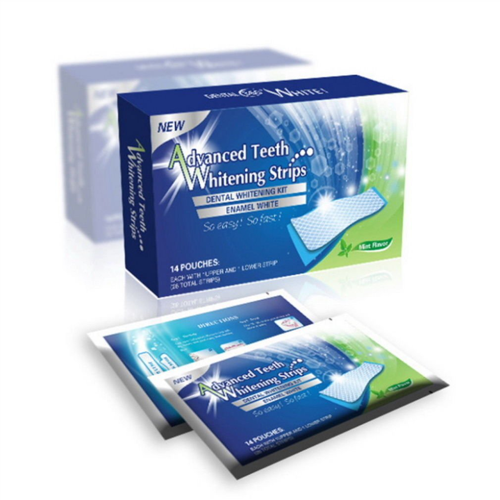 28 PROFESSIONAL HOME TEETH WHITENING STRIPS BLEACHING WHITER WHITESTRIPS