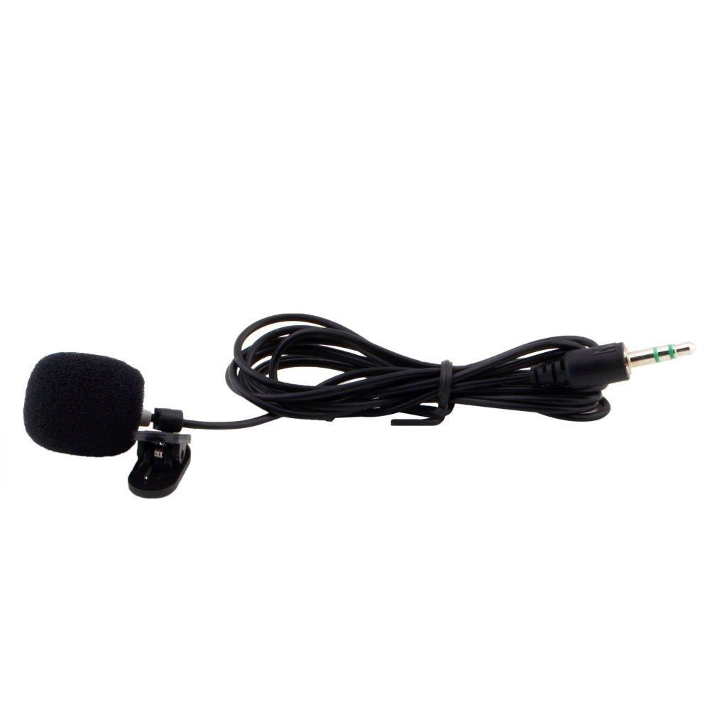 Portable Mini 3.5mm Tie Lapel Lavalier Clip Microphone for Lectures Teaching