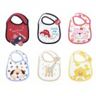 1X Cartoon Toddler Lunch Bibs  Cloths Baby Girl Boy Towel  Waterproof
