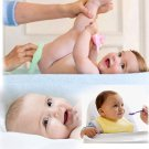8Pcs Baby Infant Newborn Bath Towel Washcloth Bathing Feeding Wipe Cloth Soft