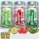 RASPBERRY KETONE + GREEN COFFEE BEAN EXTRACT + GARCINIA CAMBOGIA