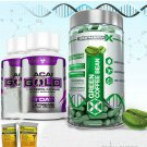 GREEN COFFEE BEAN EXTRACT + 2 ACAI GOLD DIET + DETOX PILLS    Supply:1 Month +