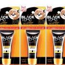 3 x 10 g Mistine remove Blackhead remover Black Head Carbon Peel Off Face Mask