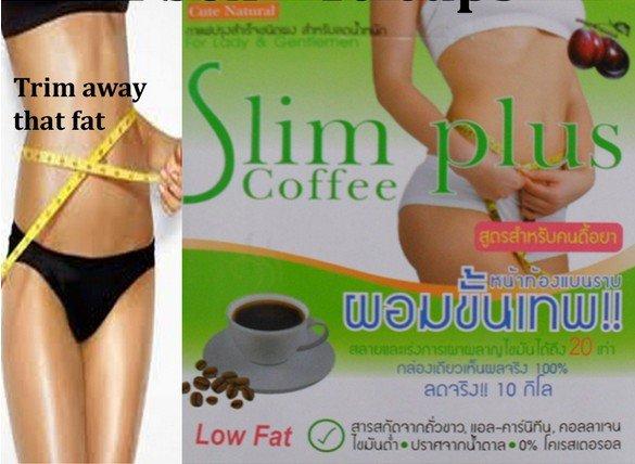 SLIM PLUS INSTANT DIET SLIMMING COFFEE Weight loss Fat Burn Lose weight Detox