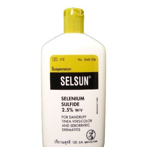 SELSUN ANTI DANDRUFF TREATMENT SHAMPOO SELENIUM SULFIDE TINEA VERSICOLOR 4 oz