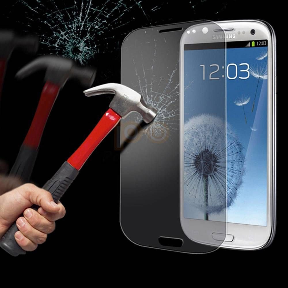 Samsung Galaxy i9300 S3 Clear Tempered Glass Screen Protector Guard Cover