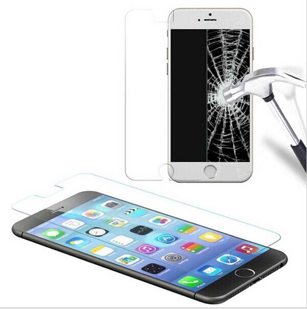 """Apple iPhone 6 Plus 5.5"""" Super Strong Tempered Glass Film Protection Screen"""