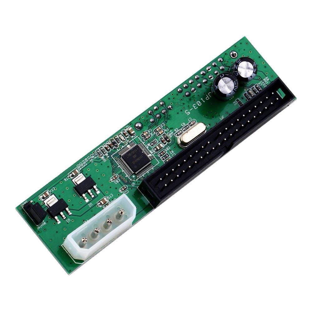 PATA IDE TO SATA Converter Adapter Plug&Play 7+15 Pin 3.5/2.5 SATA HDD DVD