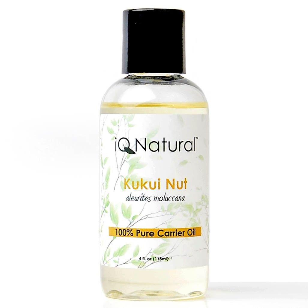 Carrier Oil: Kukui Nut Oil (Aleurites Moluccana) -- 4 fl. oz