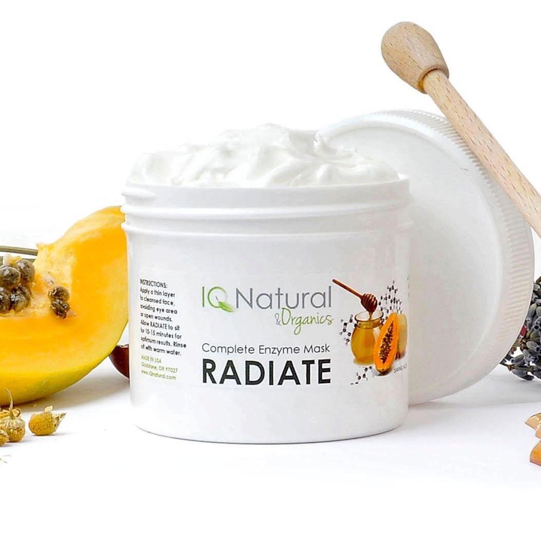 Lightening Kojic Pumpkin Papaya Enzyme Facial Mask B5 Salicylic Glycolic Acid(2oz)